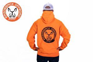 Razorback Offroad Merch Wear Hoodie Orange Back