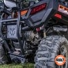 CF Moto bumper and spare tire mount
