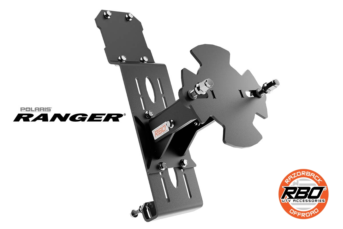 01-1074-Polaris-Ranger-Spare-Tire-Mount-By-RBO-branded