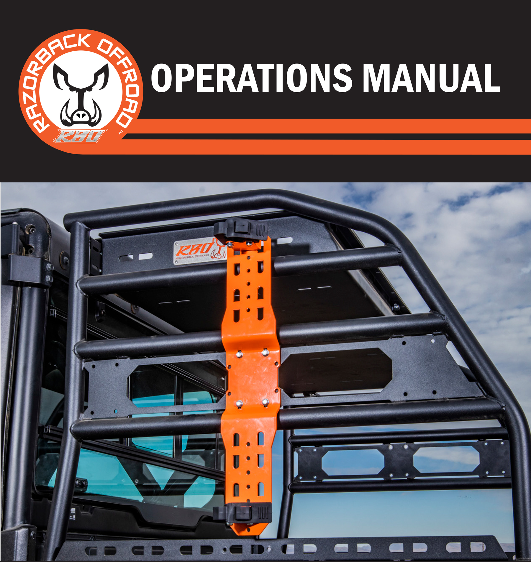 Operations product manual cover for Universal Mount