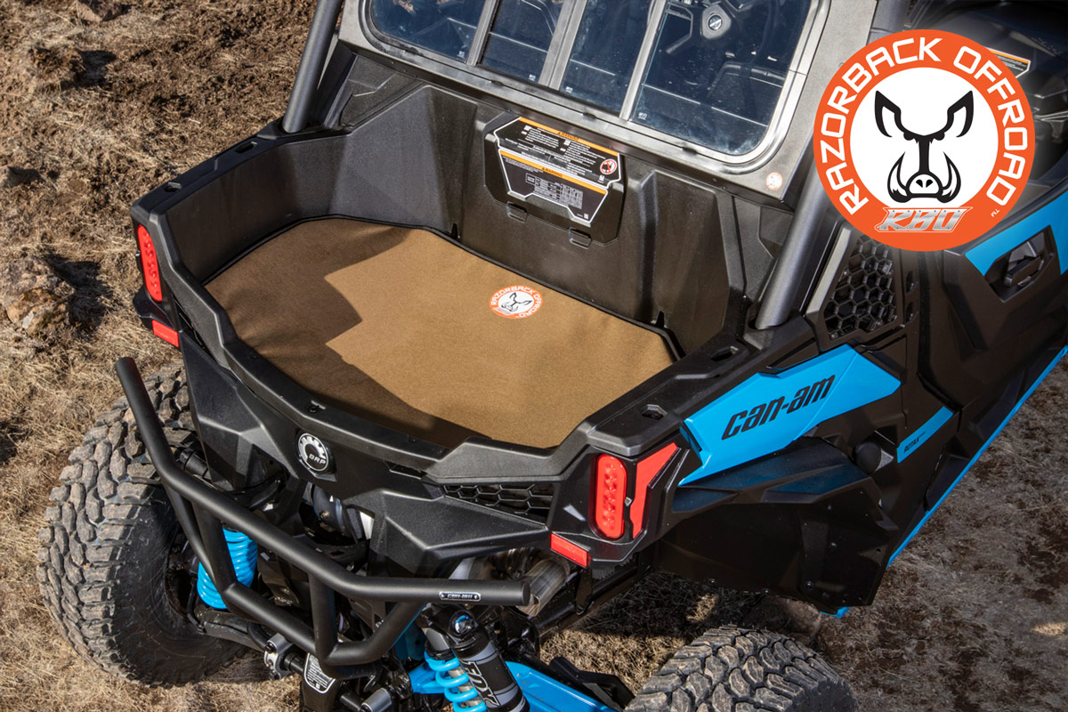 Ruff Rider Padded Heat Shield Can Am Maverick In Stock