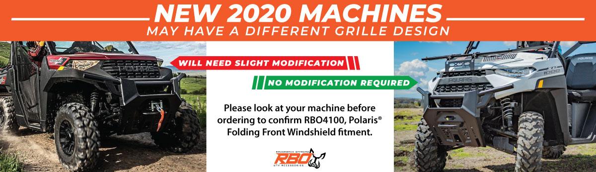2020 Polaris Ranger Grille Design Fitment Notification