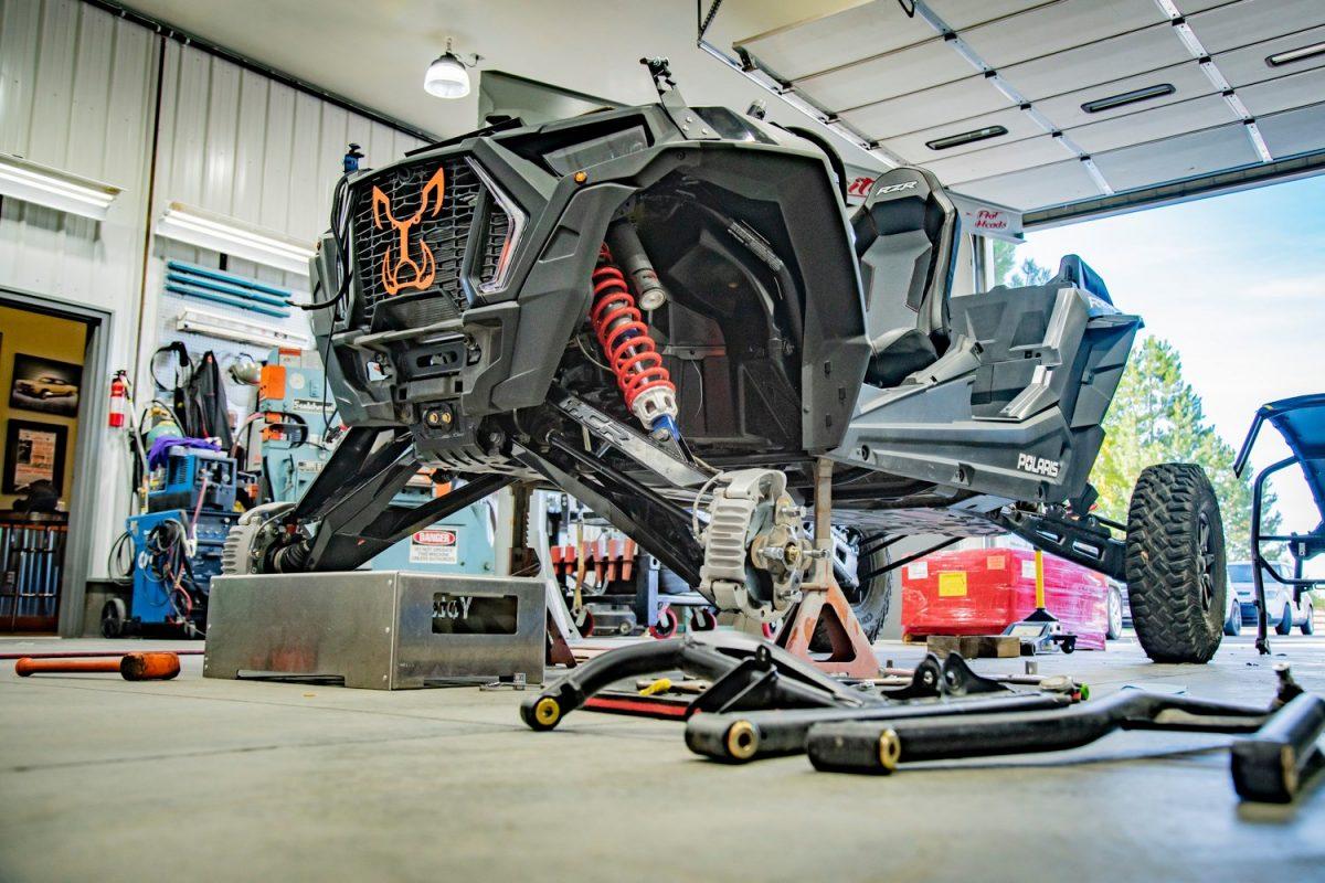 SEMA Featured Vehicle Build Teardown for Custom UTV