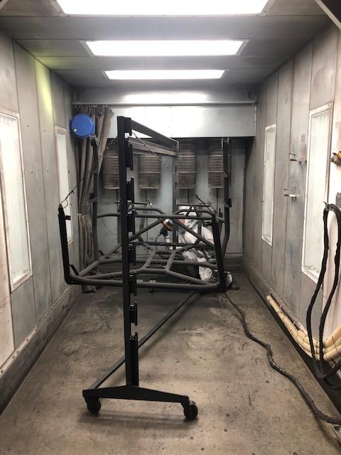 Rack Powder Coating Booth for Polaris RZR Turbo S Custom UTV SEMA Build