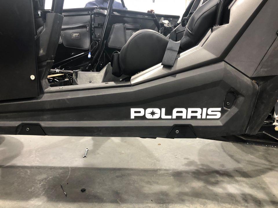 In Progress Teardown for Polaris RZR Turbo S Custom UTV SEMA Build