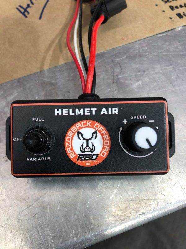 Helmet Air Controls Knobs for Polaris RZR Turbo S Custom UTV SEMA Build
