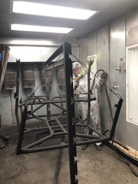 Roll Cage Powder Coat Finish for Polaris RZR Turbo S Custom UTV SEMA Build