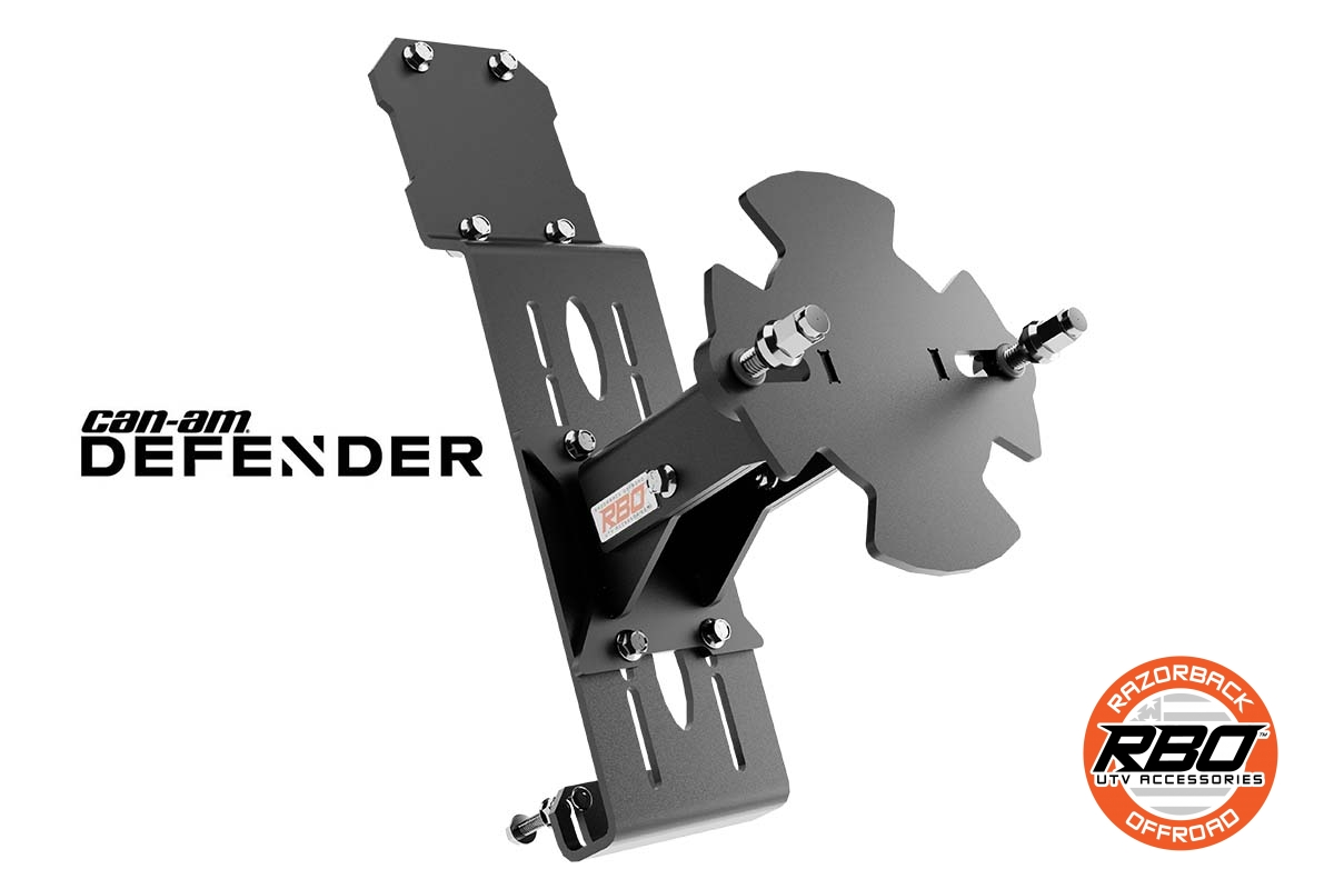 01-1074-D-Can-Am-Defender-Spare-Tire-Mount-By-RBO-branded