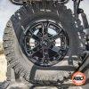 Polaris General spare tire mount