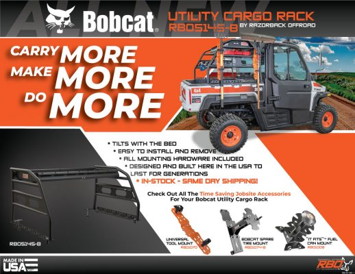 RBO-Bobcat-Utility-Cargo-Rack-Features-And-Benefits-Flyer