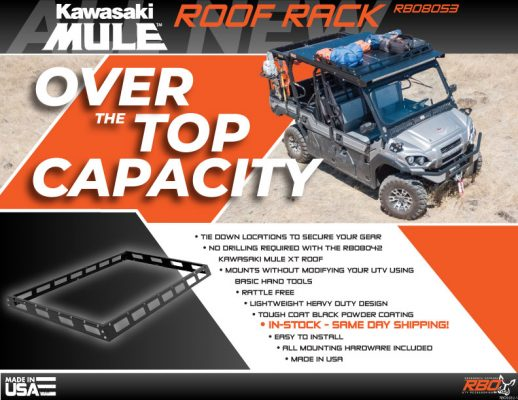 RBO-Kawasaki-Mule-Roof-Rack-Features-and-Benefits-Flyer