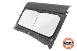 RBO Kawasaki Mule Folding Front Windshield Beauty Shot