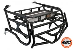 Front view of Polaris RZR1000 4-Seater Expedition Rack With Tailgate