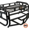 A close up of Polaris RZR570 800 Expedition Rack With Tailgate