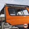 Orange UTV window