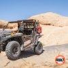 UTV in a rocky desert