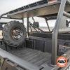 Tire on a four wheeler