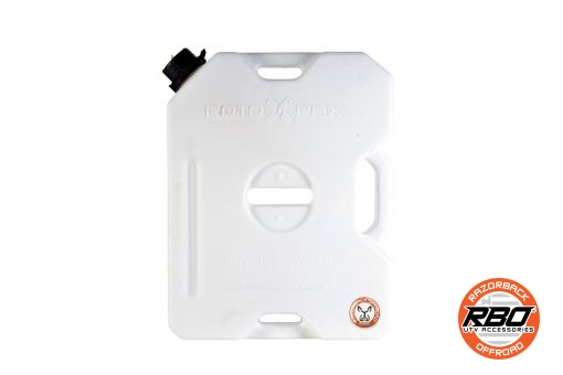 Front of Rotopax 2 Gallon Water Can
