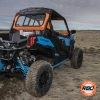 ATV on grass and dirt