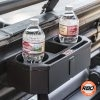 Water bottles in drink holder