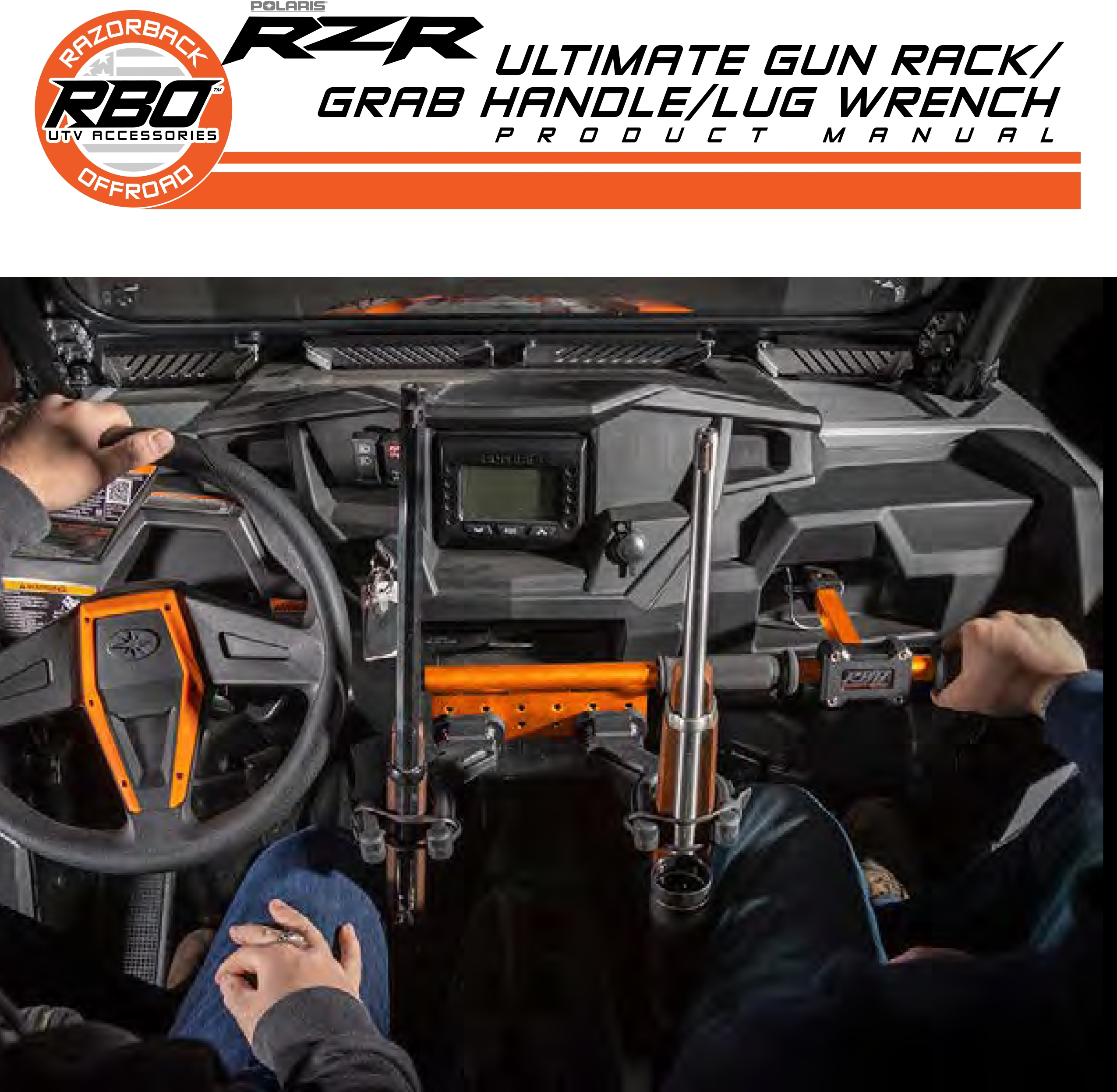 RBO Ultimate Gun Mount Grab Handle Lug Wrench Product Manual