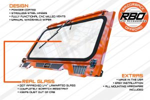 4000 Polaris RZR 900-1000 Glass Windshield Diagram